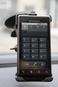 Motorola Milestone telefonläge