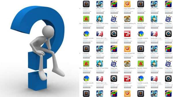 Hur många appar har du installerat och vilka av dessa använder du mest? [Undersökning]