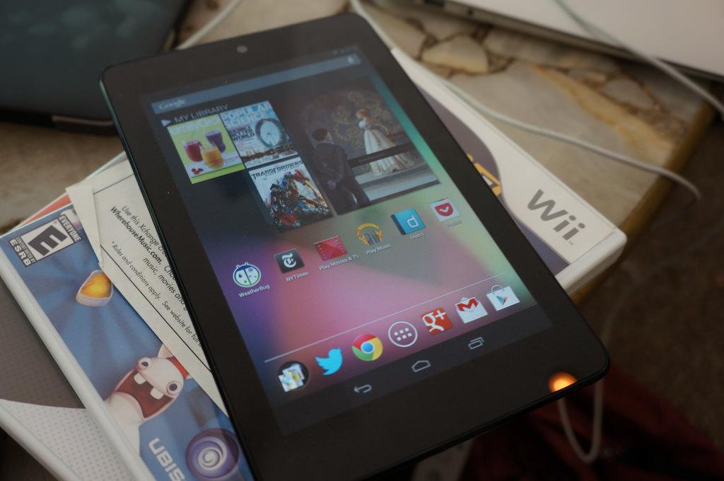 Reuters rapporterar att nya Nexus 7 släpps i juli