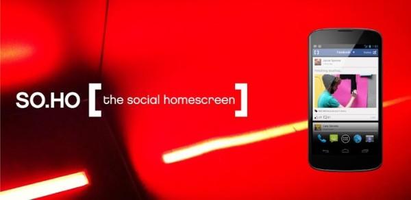SO.HO – ny hemskärmsersättare med sociala nätverk i fokus
