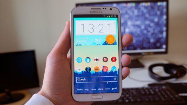 Samsung uppdaterar Galaxy Note 2 till Android 4.3