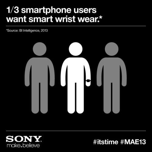 Sony antyder att företaget snart presenterar ny smartklocka