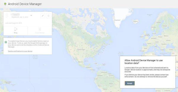 Googles tjänst för att hitta försvunna Androidenheter nu live