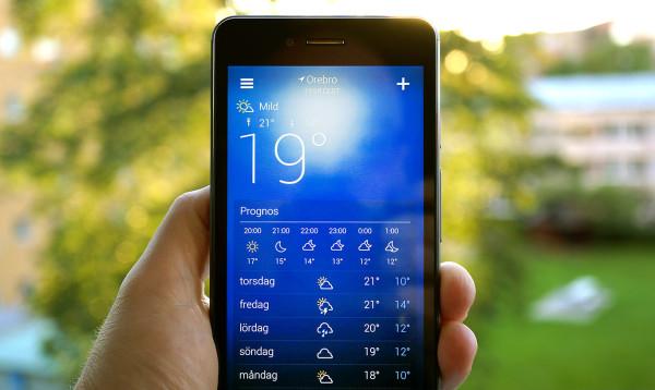 Yahoos ovanligt tjusiga väderapp släpps för Android
