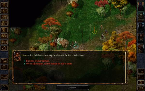 Baldur's Gate Enhanced Edition landar i Google Play