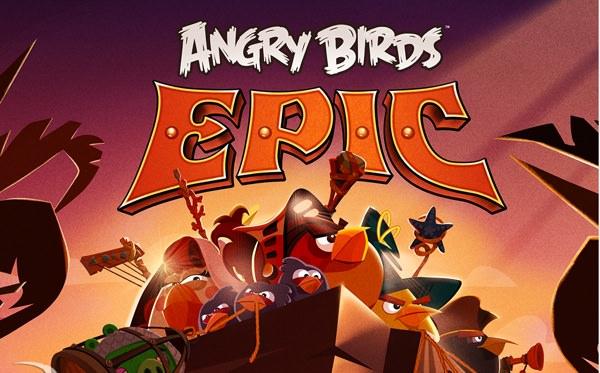 Rovio släpper Angry Birds Epic