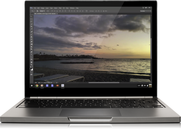 Adobe Photoshop på väg till Chromebooks