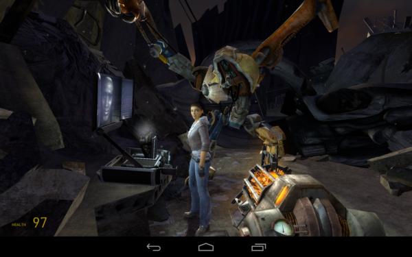 Half-Life 2: Episode One ges ut för Nvidia Shield Tablet