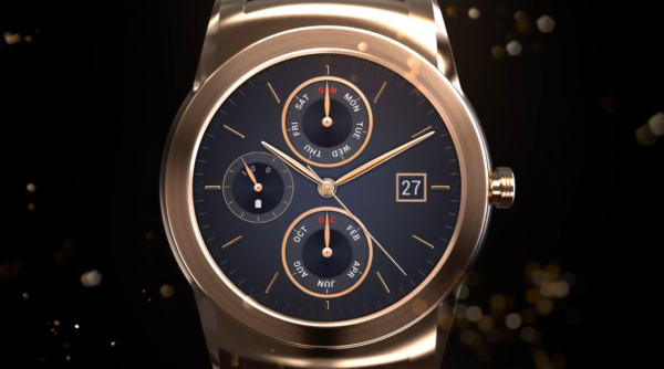 LGs reklamfilm för Watch Urbane visar traditionell klockdesign