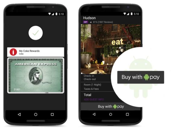 Google presenterar Android Pay