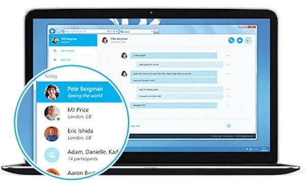 Nu kan du använda Skype på webben