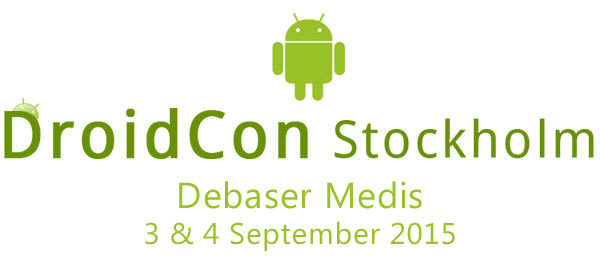 DroidCon Stockholm 2015 – tävla  och vinn biljetter