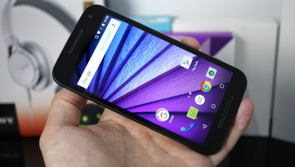 Vi testar Motorola Moto G 2015