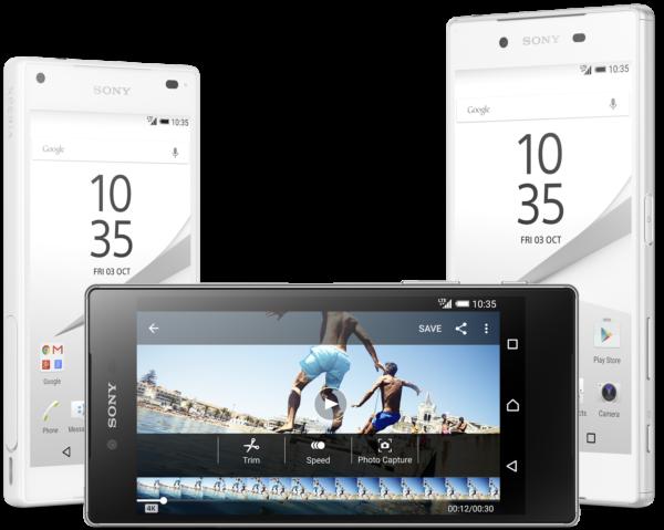 Så här gör Sony reklam för kameran i Xperia Z5