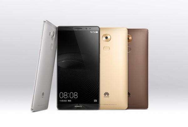 Huawei tillkännager 6-tummaren Mate 8