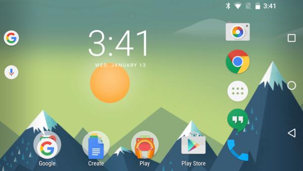 Senaste Google-appen jämnar ut ikonstorlekar
