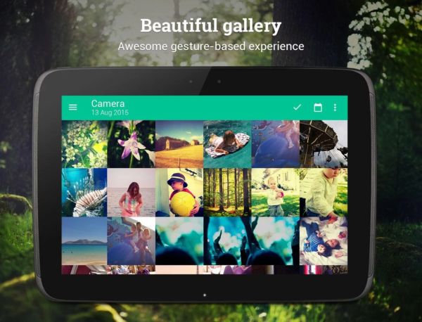 Piktures är en praktisk galleriapp i Google Play