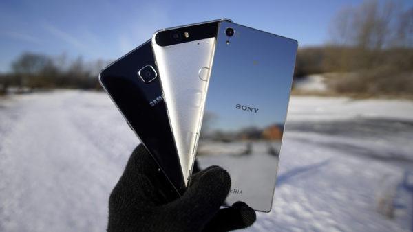 Blindtest: Huawei Nexus 6P, Sony Xperia Z5 Premium och Samsung Galaxy S6 Edge+
