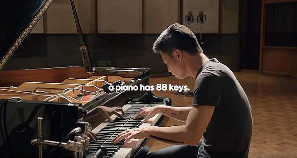 Google jämför konkurrensen med entonigt piano