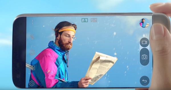 LG:s fyra minuter långa reklamfilm för G5