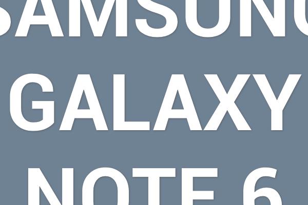 Rykte: Samsung Galaxy Note 6 har ögonscanner, är vattentät