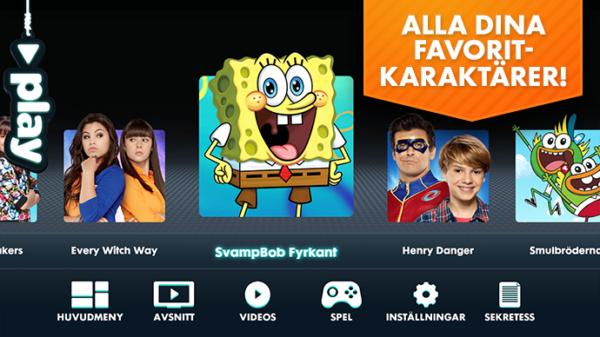 Nickelodeon Play får Sverige-premiär