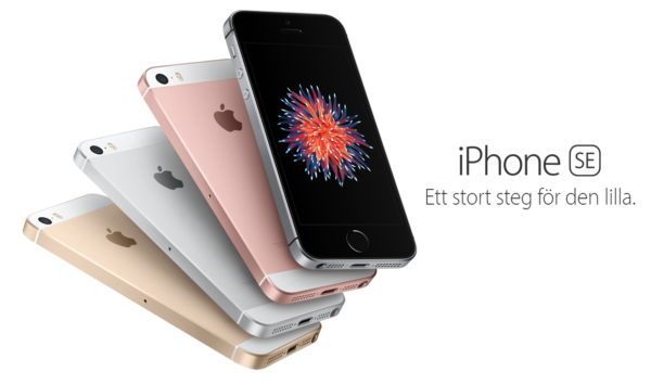 Apple satsar återigen på små telefoner, presenterar 4-tummaren Iphone SE
