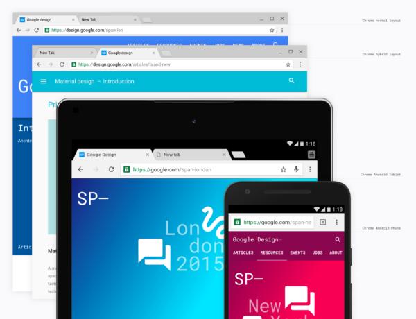 "Chrome 50 erbjuder komplett ""Material Design"" för Chrome OS"