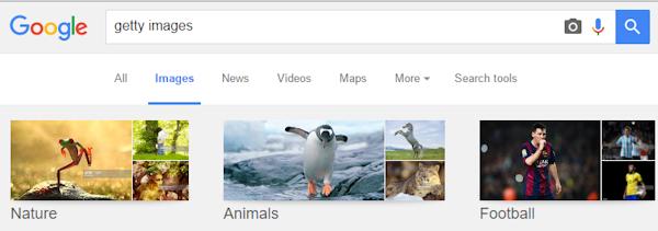 Getty Images anklagar Google för att möjliggöra piratkopiering av fotografier