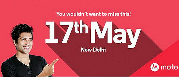 Motorola kommer visa upp nyheter i New Delhi 17 maj