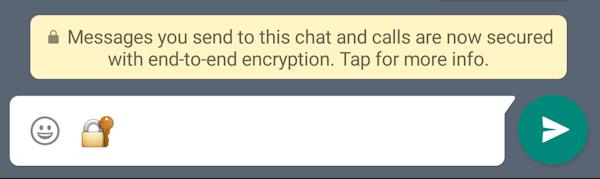 Nu är all kommunikation i WhatsApp krypterad