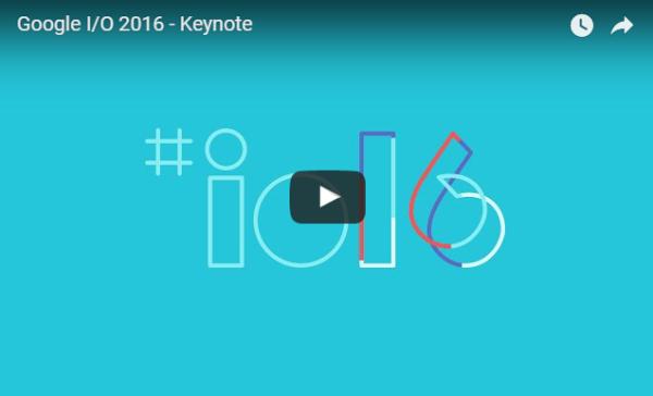 Följ livesändningen från Google I/O 2016 här