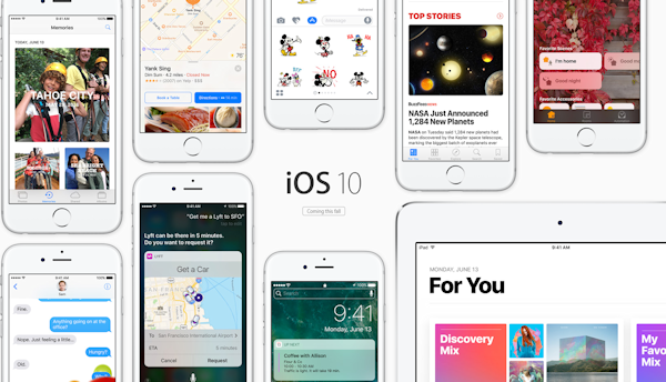 Apple introducerar IOS 10 – här är nyheterna
