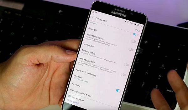 Italiensk blogg går igenom Samsungs nya gränssnitt