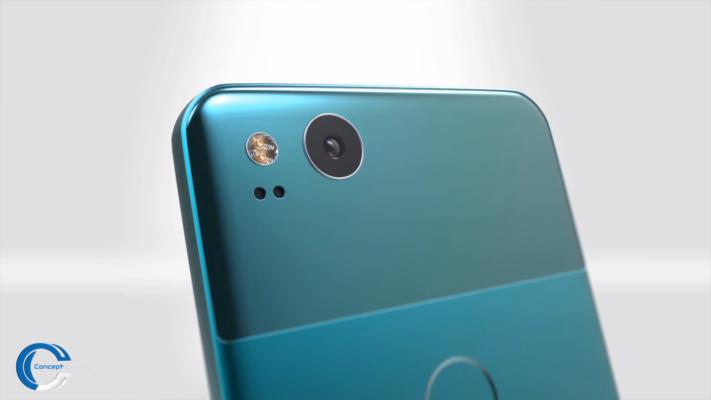 Konceptvideo visar Google Pixel XL 2