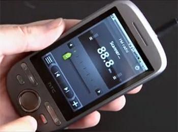 HTC Tattoo - FM-radio