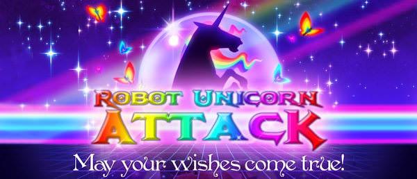 Robot Unicorn Attack - ett nytt plattformsspel med humor och glimten i ögat