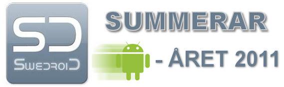Swedroid summerar androidåret 2011 - det här hände [Krönika]