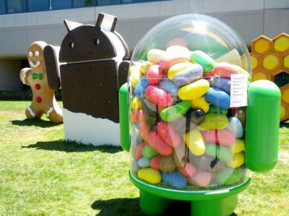 android-jelly-bean-statue-logo-statue