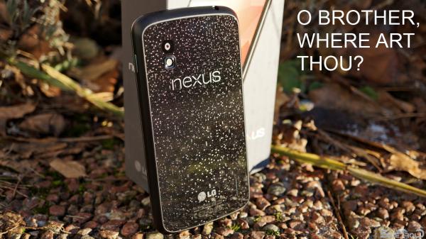 Brist på LG Nexus 4