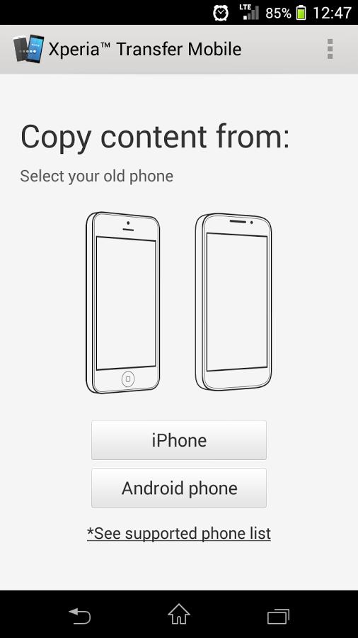 föra över kontakter från iphone till samsung a5