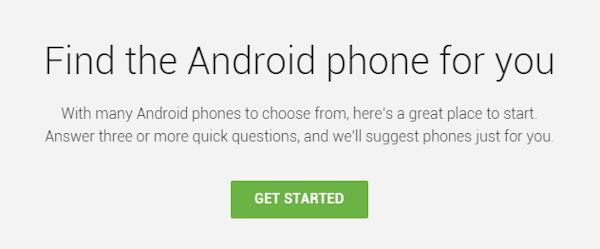 Här kan du se vilken Androidmobil Google tycker passar dig bäst ... 730a01a40b606
