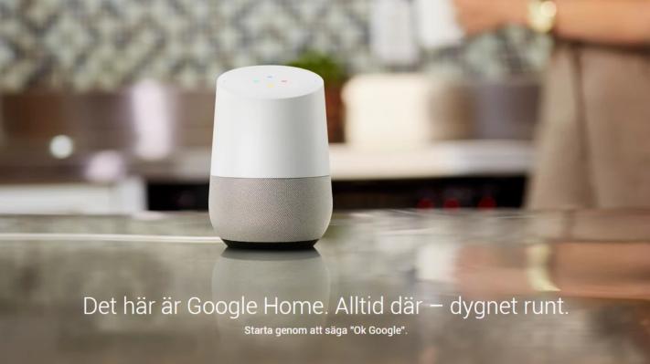 Google Home – en högtalare och virtuell assistent för hemmet a68e784c85975