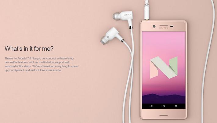 Sony börjar uppdatera Xperia X Performance till Android 7 ...