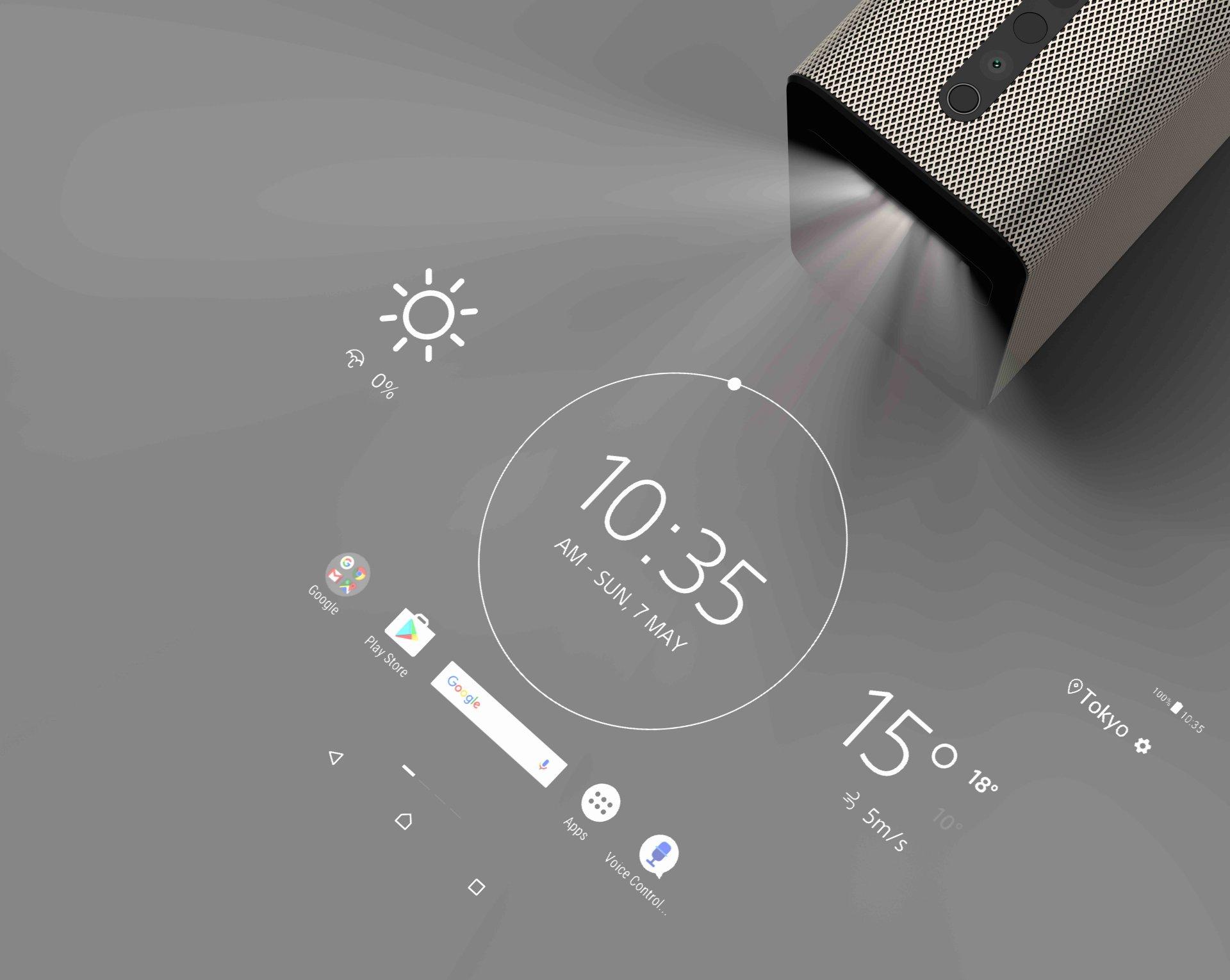 Sonys Androidbaserade projektor Xperia Touch kan förvandla ...