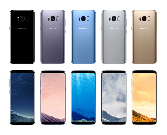 Samsung introducerar Galaxy S8 och S8 Plus