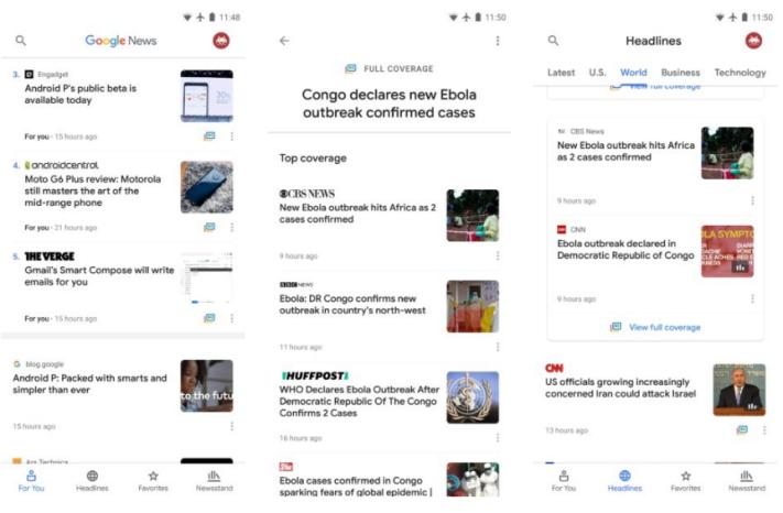 Google släpper ny nyhetsapp, ersätter Play Newsstand - Swedroid