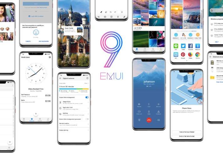 Huawei berättar mer om sitt Pie-baserade gränssnitt EMUI 9