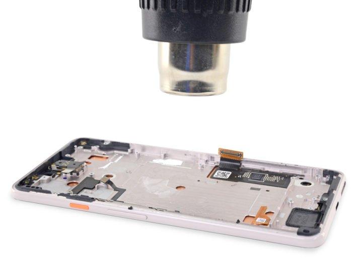 Skärmen i Google Pixel 3 XL är tillverkad av Samsung