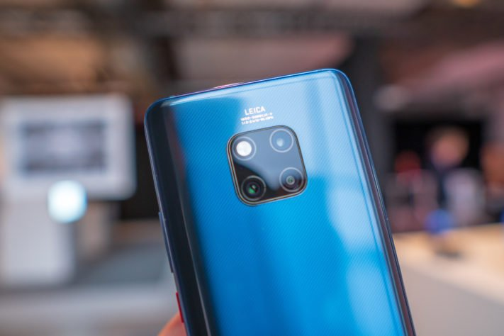 Hands-on med Huawei Mate 20 Pro